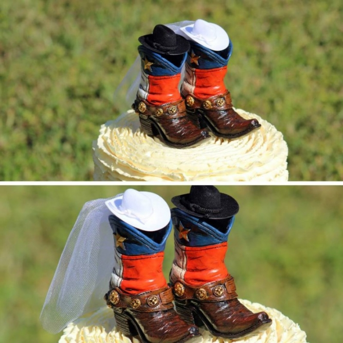 Boot Cake Topper