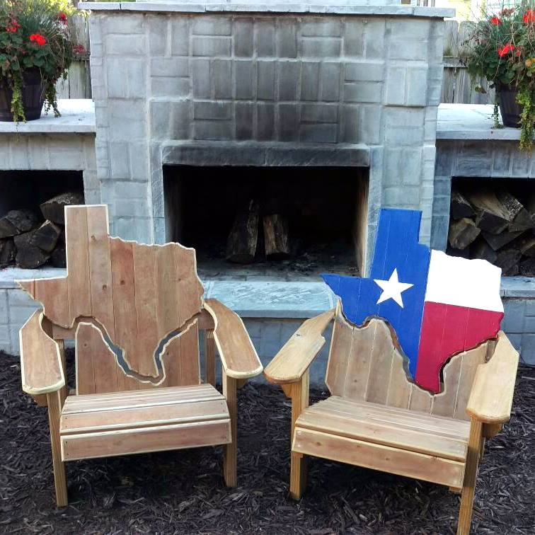 Texas Adirondack Chairs