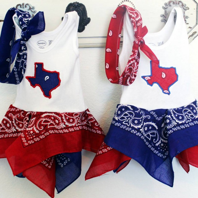 Texas Bandana Dress