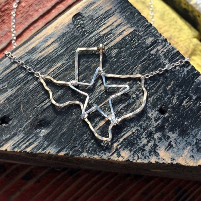 Texas Star State Necklace